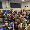 GREG SUKIENNIK -- MANCHESTER JOURNAL<br /> Residents take their seats at Manchester Elementary-Middle School for town meeting on Saturday, March 3.