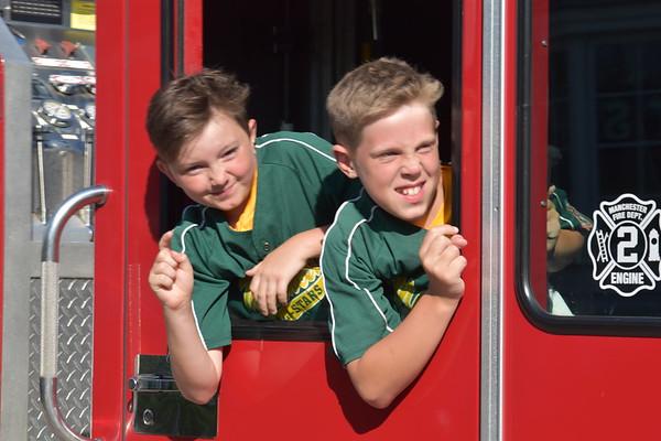 Manchester Youth Baseball parade