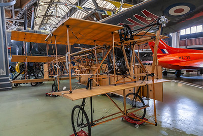 Copy of the first all-British aeroplane in 1909