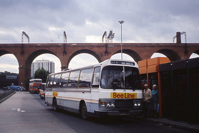 Bee Line 1089 Stockport Bus Stn Aug 90