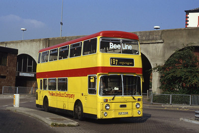 Bee Line 672 Stockport Bus Stn Sep 91