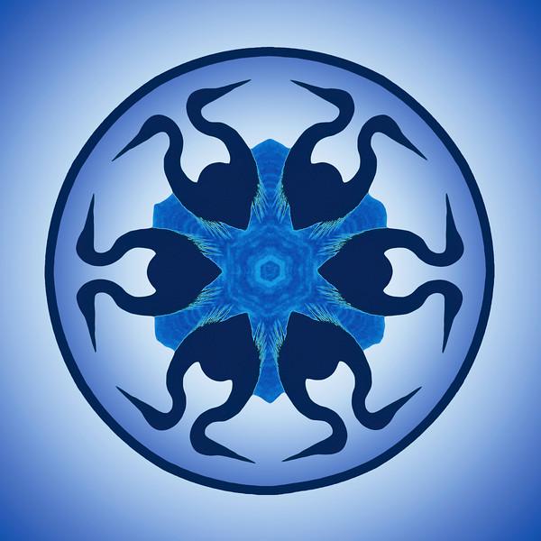 Blue Heron Mandala
