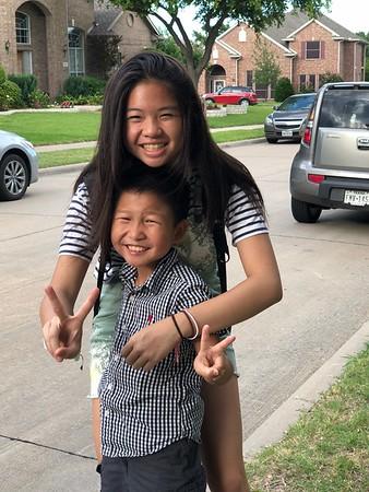 Mandy and Zan visit