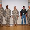 17 FEB 2011 - 199th Infantry Brigade QTB.  MCoE, Fort Benning, GA.  Photo by Sue Ulibarri.