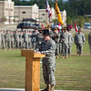 (FORT BENNING, Ga) Lieutenant Colonel Oscar F. Diano relinquishes command of the 2nd Squadron, 16th Cavalry Regiment to Lieutenant Colonel Dennis R. Atkins III, June 23, 2014 at Brave Rifles Field. (Photos by: Patrick A. Albright/MCoE PAO Photographer)