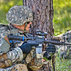 USArmy Live fire training at Galloway Range, Fort Benning, GA.  C Co 2nd Btn 11 Infantry Regiment. Photo by John D. Helms - john.d.helms@us.army.mil