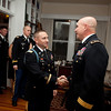 (FORT BENNING, GA.) Students from the Maneuver Center Career Course attend a reception Tuesday, November 13, 2012 at Riverside. Maj. Gen. H. R. McMaster hosted the event. (Photo by: Ashley Cross)