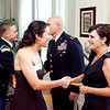 (FORT BENNING, Ga) Maneuver Center Captain's Career Course Students and Spouses attend a reception at the Commanding General's home, August 28, 2013 at Riverside. (Photos by: Patrick A. Albright/MCoE PAO Photographer)