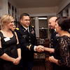 (FORT BENNING, Ga) Maj. Gen. H. R. McMaster, Commanding General of Fort Benning and the Maneuver Center of Excellence, hosts a reception at his home for the students and spouses of the Maneuver Captains Career Course, Nov. 26, 2013 at Riverside. (Photo by Ashley Cross/MCoE PAO Photographer)