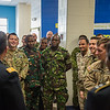 International Military Student's School visit