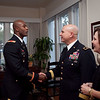 (FORT BENNING, Ga.) Maneuver Center of Excellence Students and spouses attend a reception at the home of Maj. Gen. H. R. McMaster and his wife Katie, Wednesday, January 23, 2013 at Riverside. (Photos by: Ashley Cross/MCoE PAO Photographer)