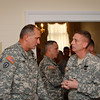 11 MAY 2011 (FORT BENNING, GA) - MG Brown hosts the MPCC Welcome Social at Riverside. Photo by Kristian B Ogden.