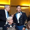 (FORT BENNING, Ga) 2nd Lt. Kyle A. Goodroe receives the Patterson Award during the United States Army Officer Candidate School Patterson Award Dinner, May 9, 2013 at the Benning Conference Center. (Photo by Ashley Cross/MCoE PAO Photographer)