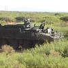 Operational testing with a Stryker. Courtesy photo