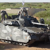 EXFOR soldiers preparing the CV90 for excursion. Courtesy photo