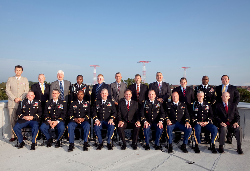 (FORT BENNING, Ga.) Senior leaders of the Capabilities Development and Integration Directorate (CDID), Sept. 7, 2012 at Fort Benning, Ga.
