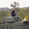 (FORT BENNING, Ga) Maj. Gen. H.R. McMaster, Brig. Gen. Cavoli, Brig. Gen. Schwartz and other Benning leaders observe a 30MM Stryker LFX Demonstration at Coolidge Range, February 19, 2014. (Photo by: Patrick A. Albright/MCoE PAO Photographer)