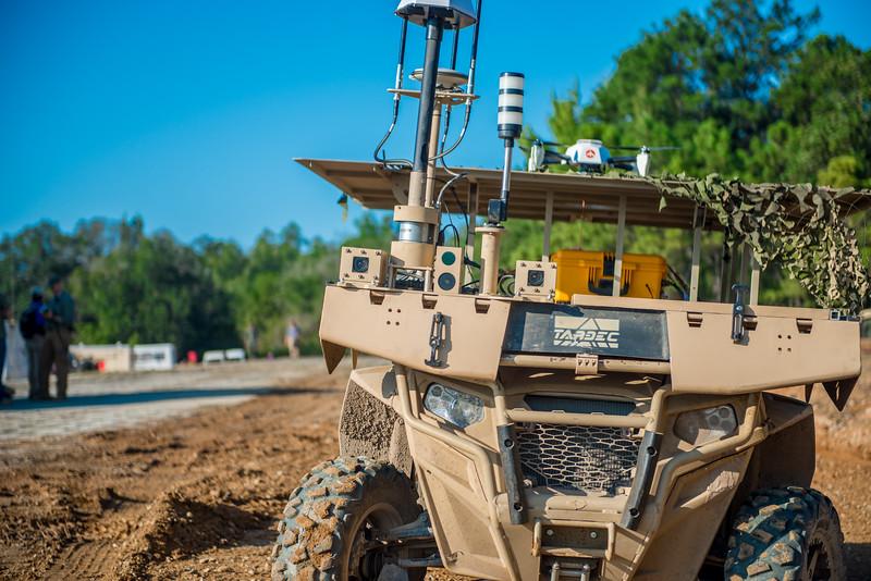 Maneuver Robotics and Autonomous Systems Live Fire Demonstration