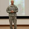 (FORT BENNING, Ga,) Combat Leader Speaker Program with LTC (R) David Hartline, September 17, 2014 at Derby Auditorium ( Photos by: Markeith Horace/MCoE PAO Photographer )