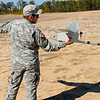 11 FEB 2011 - Raven training at Todd Field (Raven Operators Course).  MCoE, Fort Benning, GA.  Photo by Vince Little.