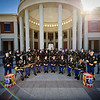 17 NOV 2010 - MCoE Band, group photo in front of the National Infantry Museum, Fort Benning, GA.  Photo by John D. Helms - john.d.helms@us.army.mil