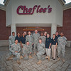 30 SEPT 2011 (COLUMBUS, GA) - MG Brown hosts an appreciation lunch for the Protocol Team at Chef Lee's. Photo by Kristian Ogden.