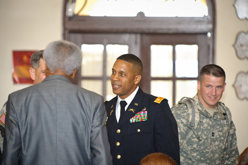 15 OCT 2010 - LTC(P) Johnson Promotion to COL, Benning Conference Center, Fort Benning, GA, MCoE.  Photo by John D. Helms - john.d.helms@us.army.mil
