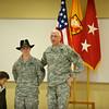 25 JAN 2011 - LTG Hertling promotes MAJ Hayes to LTC.  Harmony Church, Fort Benning, GA.  Photo by John D. Helms - john.d.helms@us.army.mil