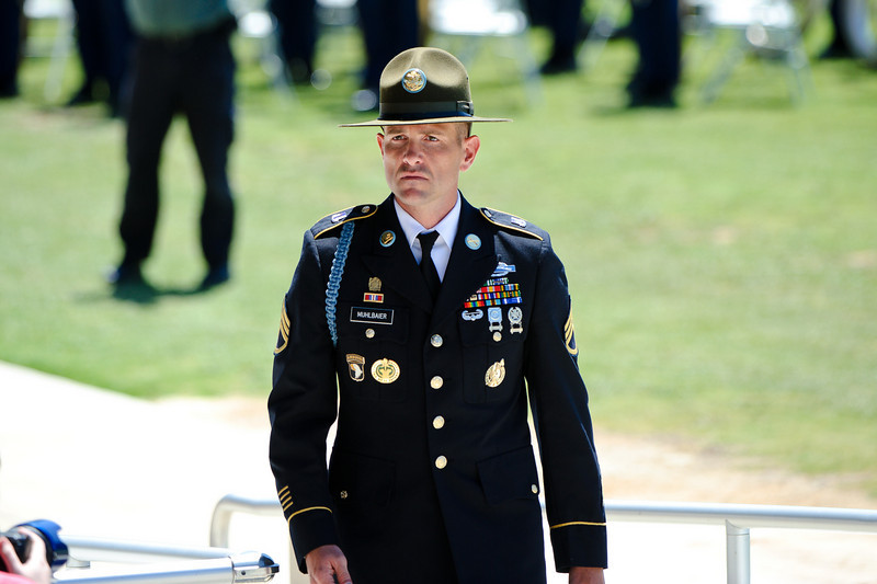28 APR 2011 - Distinguished Service Cross Award Presentation to CPT Jay C. Copley (Company C, 1st Battalion, 50th Infantry Regiment).  National Infantry Museum Parade Field, MCoE, Fort Benning, GA.  Photo by John D. Helms - john.d.helms@us.army.mil