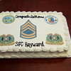 SSG Kyral Hayward Promotion Ceremony