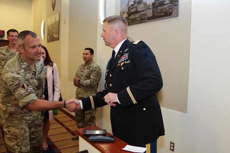 LTC Huhtanen Promotion Ceremony