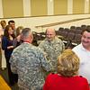 10 FEB 2012 (Fort Benning, GA) - COL Wadsworth retirement ceremony in Derby Auditorium at McGinnis-Wickam Hall.