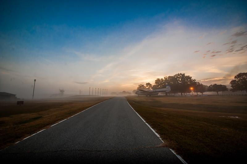 Sunrise at Eubanks Field