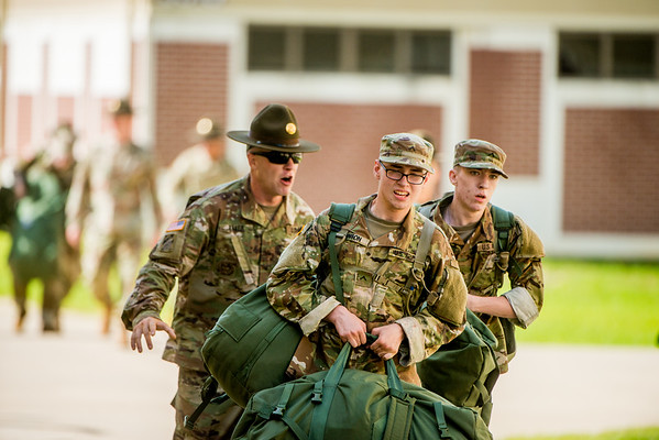 Basic Training Photos >> 2018 06 20 Basic Training Arrival Fort Benning Photos