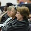 (Fort Benning, Ga) 2014 1 13 Town Hall Meeting Held in Derby Auditorium regarding upcoming Civilian Transformations. (Photo by: James R. Dillard / MCoE PAO Photographer)