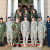 LTG Caslen group photo at WHINSEC 30 MAR 2010