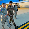 21SEP2010 - LTG Mashal Mohammad Salem Al-Zaben (Air Force CJCS Jordan Armed Forces) visits Fort Benning, GA to observe training including the Henry Caro NCO Academy, Modern Army Combatives, Engagement Skills Training / Basic Rifle Marksmanship and MCCC / VBS2.  Photo by Vince Little