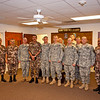 21SEP2010 - LTG Mashal Mohammad Salem Al-Zaben (Air Force CJCS Jordan Armed Forces) visits Fort Benning, GA to observe training including the Henry Caro NCO Academy, Modern Army Combatives, Engagement Skills Training / Basic Rifle Marksmanship and MCCC / VBS2.  Photo by John D. Helms - john.d.helms@us.army.mil