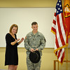 25 JAN 2011 - LTG Hertling promotes MAJ Hayes to LTC.  Harmony Church, Fort Benning, GA.  Photo by John D. Helms - john.d.helms@us.army.mil