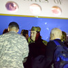 31 JAN 2011 - Lt Gen Ljubiša Diković, Commander, Serbian Land Forces, arrives at LAAF to visit MCoE, Fort Benning, GA.  Photo by John D. Helms - john.d.helms@us.army.mil