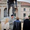 01 FEB 2011 - Lt Gen Ljubiša Diković, Commander, Serbian Land Forces, visits MCoE, Fort Benning, GA.  Photo by John D. Helms - john.d.helms@us.army.mil