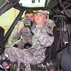 01 APR 2011 - Dreams Come True, Christopher Blackwell, 13, tours MCoE, Fort Benning, GA.  Photo by Cheryl Rodewig.
