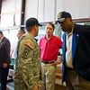 "26 APR 2011 - MG(R) Hawthorne L. ""Peet"" Proctor visits MCoE, Fort Benning, GA.  Photo by SSG Barbara Ospina."