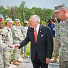 20 JULY 2011 (FORT BENNING, GA) - Georgia Governor, Nathan Deal visits the National Infantry Museum with MG Brown, Mayor Tomlinson and others. Photo by Kristian Ogden.