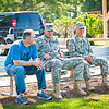 30 JULY 2011 (FORT BENNING, GA) - Phil Randazzo and his sons Phillip and Joseph visit the Maneuver Center of Excellence. Photo by Kristian Ogden.