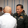 15 AUG 2011 (FORT BENNING, Georgia) - Thai Secretary of Defense and other Thai military leaders visit the Maneuver Center of Excellence. Photo by Kristin Gallatin.