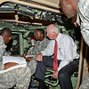 31 AUG 2011 (FORT BENNING, GA) - Senator Saxby Chambliss visits the Maneuver Center of Excellence. Photo by Kristian Ogden.