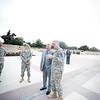13 OCT 2011 (FORT BENNING, GA) - Mr. Bob Delaney visits the Maneuver Center of Excellence. Photo by Kristian Ogden.