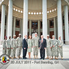 20 JULY 2011 (FORT BENNING, GA) - Georgia Govenor, Nathan Deal visits the National Infantry Museum with MG Brown, Mayor Tomlinson and others. Photo by Kristian Ogden.