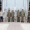 (FORT BENNING, Ga) Group photo with CG Scott Miller and MG Mohammad Sharif Yaftali January 12, 2015 at McGinnis-Wickam Hall (Photo by Markeith Horace/MCoE PAO Photographer)